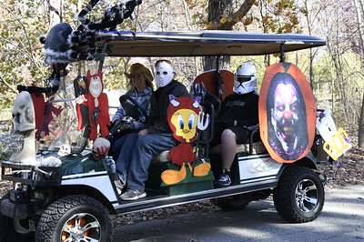 City of Hobart Halloween Golf Cart Parade 2020