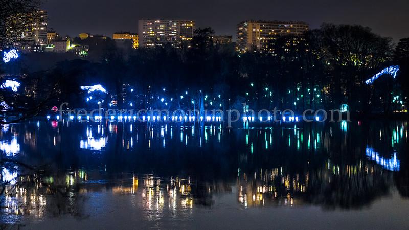 Fête des Lumières au Parc de la Tête d'Or