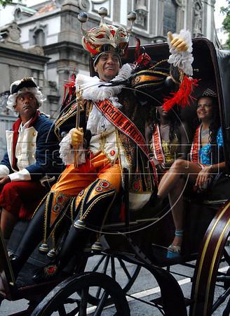 Carnival King Momo ceremony