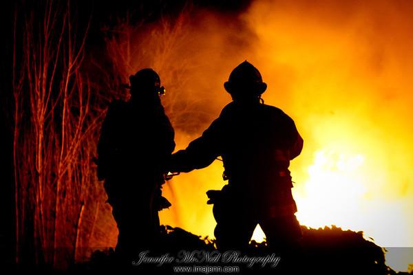680 @ McKee Car Fire