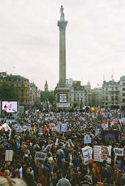 Stop the War /CND/MAB Demo 28th September 2003