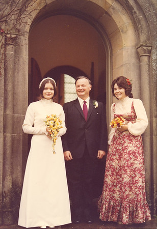 Maggie and Julian 2 Nov 1974