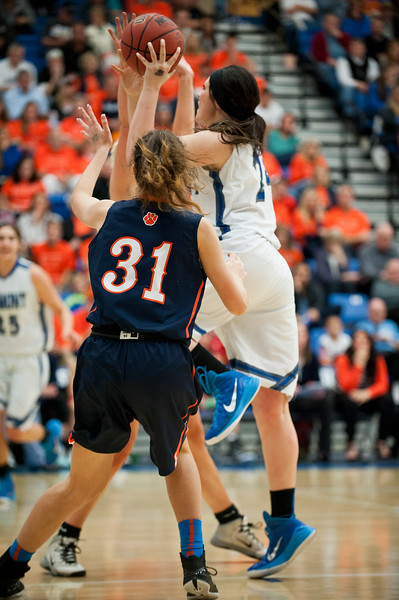 Fremont falls short of Brighton in the 5-A State Championships. At Salt Lake Community College on February 21, 2015.