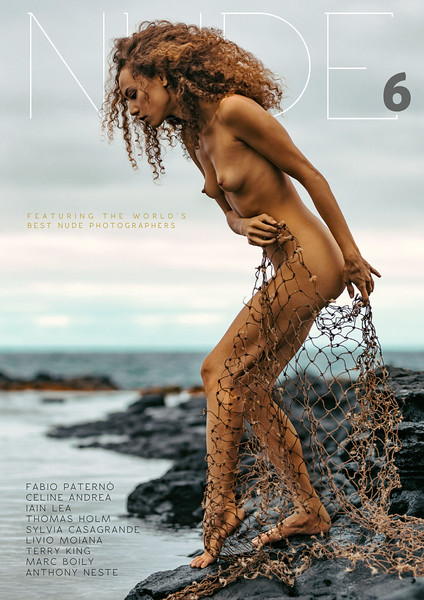 NUDE Magazine COVER by me with model: Lei Lilium