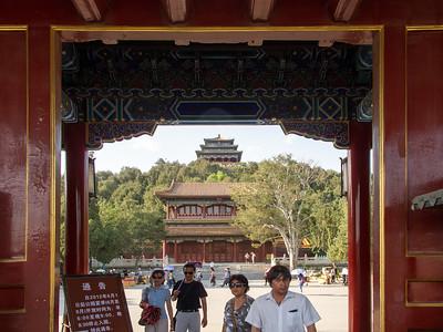 Jingshan Park, Beijing, May 2012