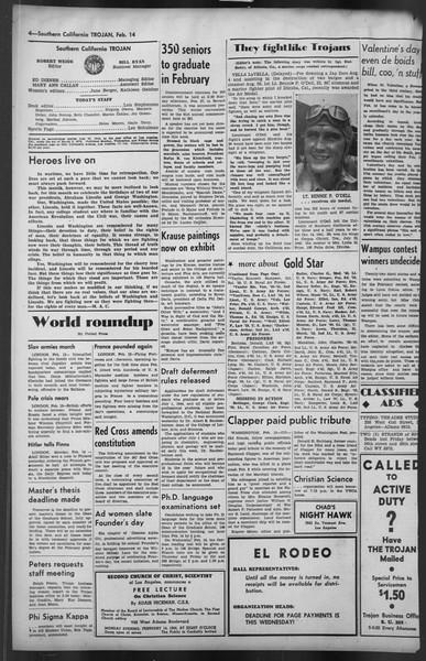 The Trojan, Vol. 35, No. 85, February 14, 1944