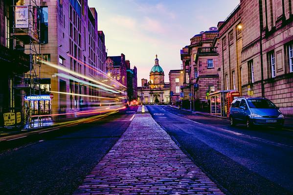 Edinburgh, Scotland - Nov 2016