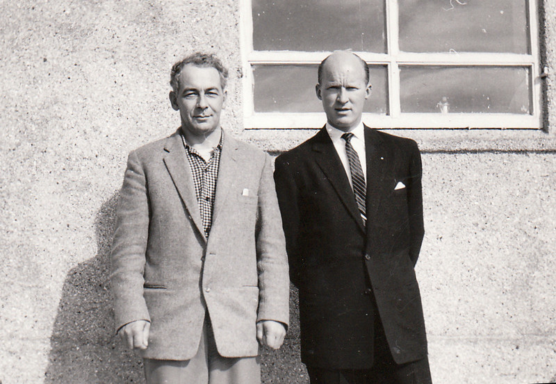 Ingólfur Isebarn og Ólafur Ágúst Ólafsson.