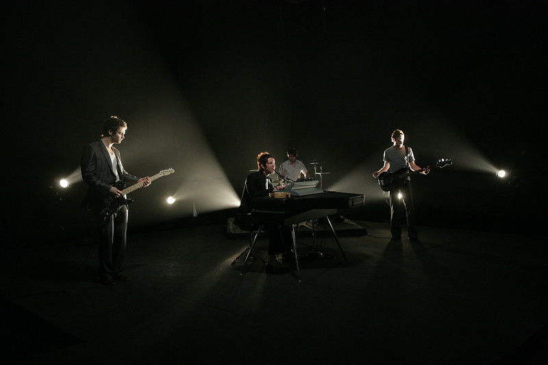 """SOULAR performing on the set of their music video for """"SO THIS IS THE WAY IT FEELS"""" Directed by Jordan Chesney at Adrenaline Films in Orlando, FL"""