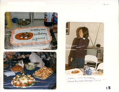 11-3-1984 Lynne Kanamori Birthday