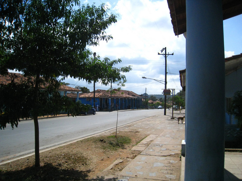 Main drag in Vinales