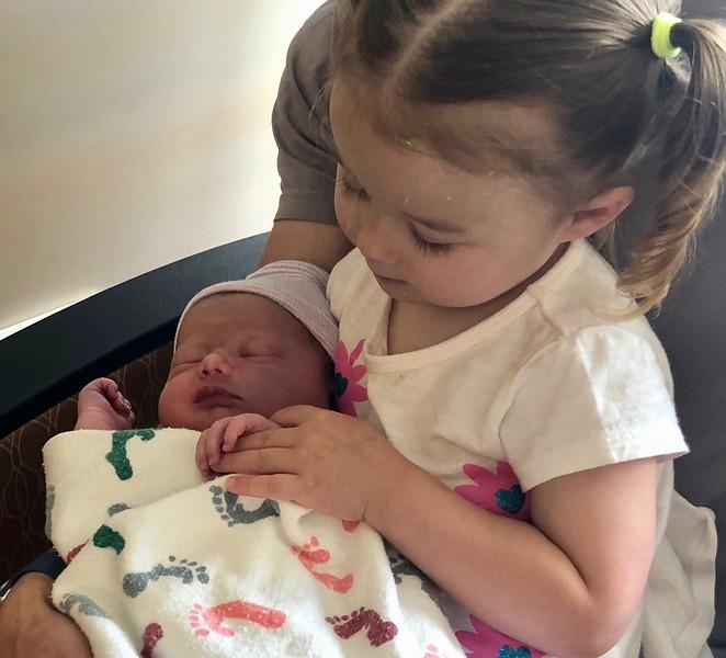 Meeting My Sister