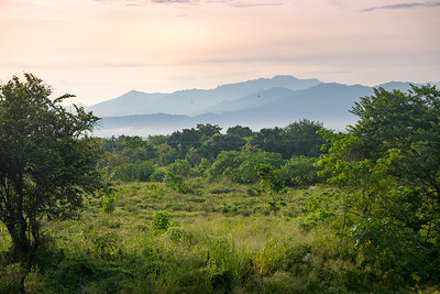 Sierra Madre Occidental Mountains Early Morning