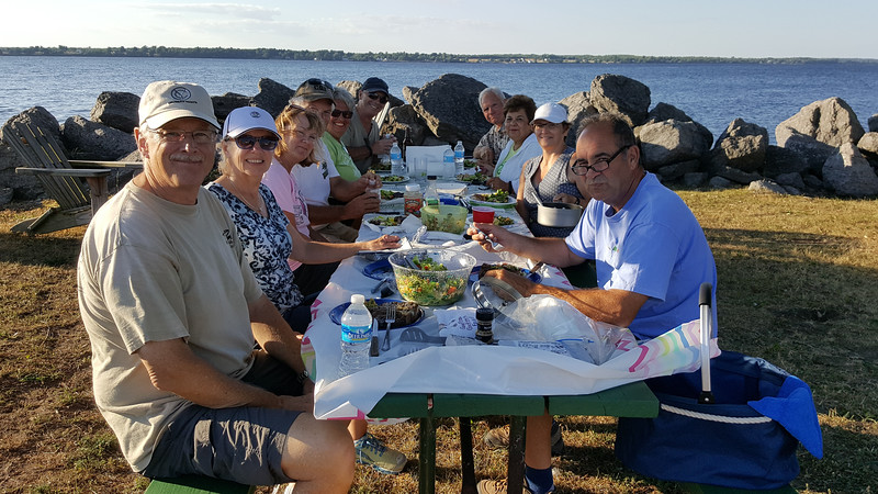 Dinner for 11 at Sackets Harbor