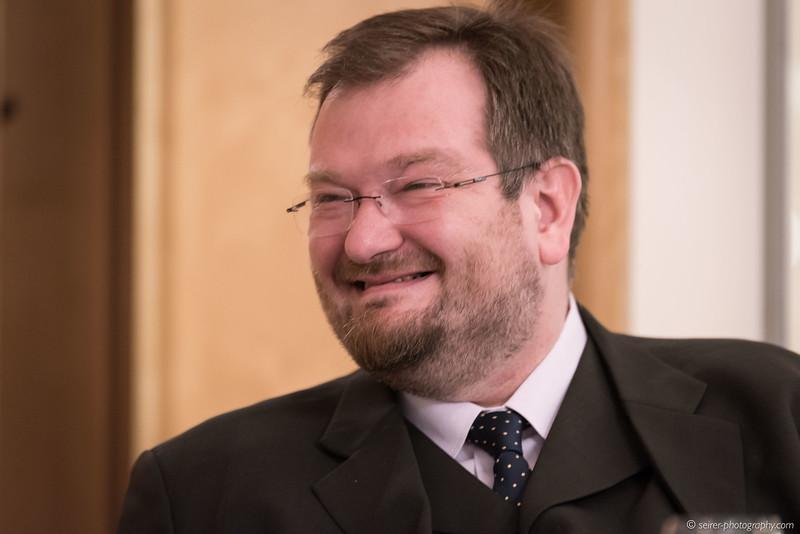 """Martin Haidinger  bei der Buchpräsentation """"Franz Josephs Land"""""""