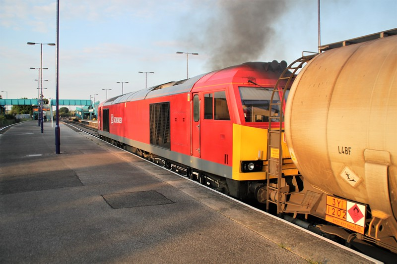 60079 2003/6D43 Jarrow-Immingham passes Barnetby