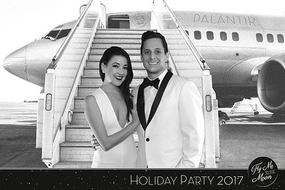 Palantir Holiday Party 2017: Fly Me to the Moon
