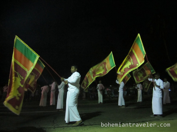 Vesak Parade in Dambulla