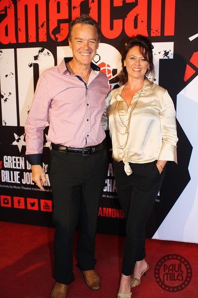 Stefan Dennis and wife Gale Easdale