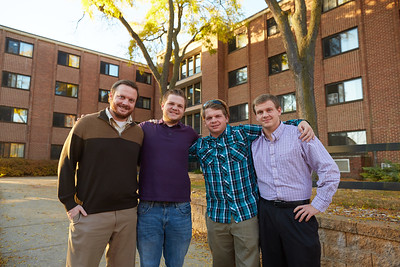 2016 UWL Residence life Brothers Alumni