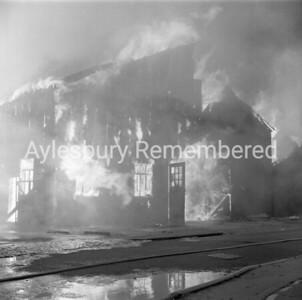 Fire at Hazell, Watson & Viney, Sep 1963