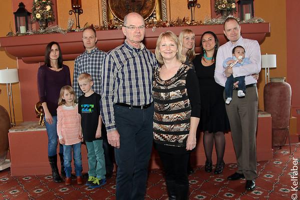 Obrigewitsch Family 12/2012