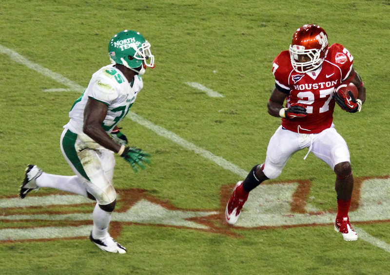UNT's Orr challenges UH's Spencer