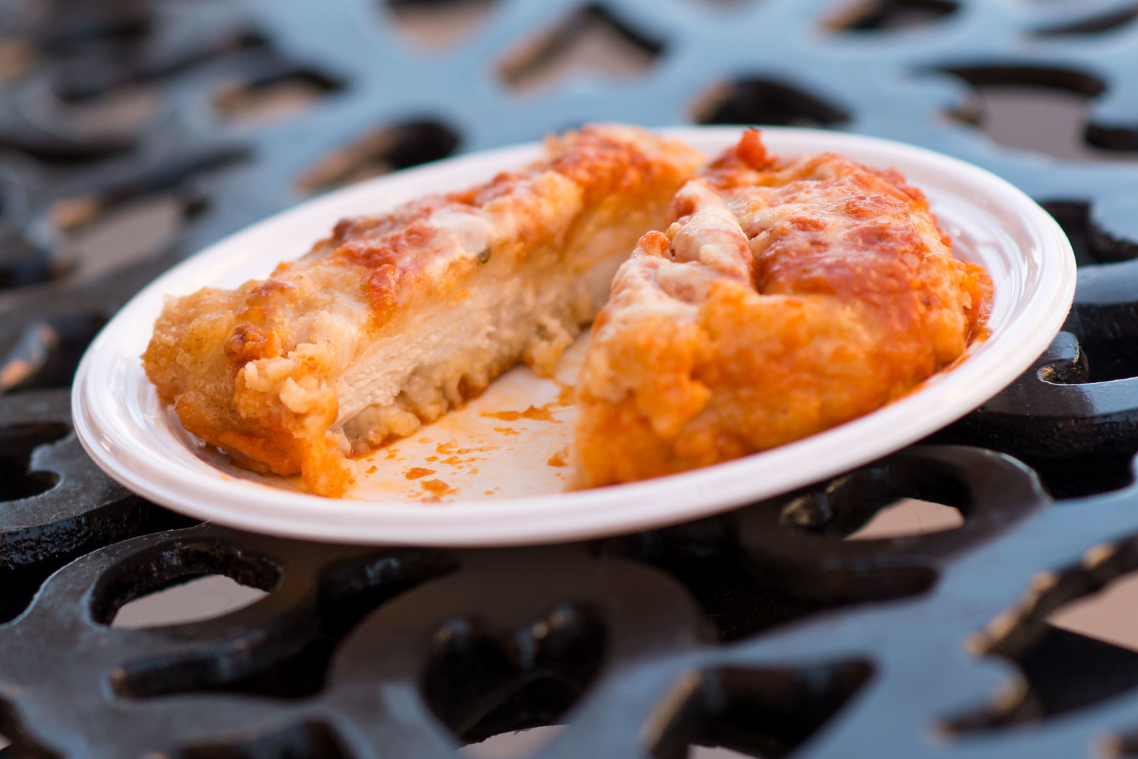 Pollo alla Parmigiana Cross-Section - Epcot Flower & Garden Festival 2016