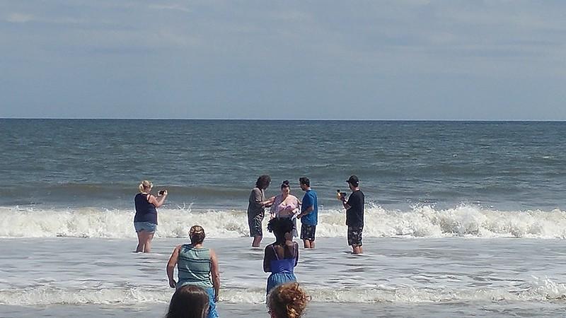 Beaches Vineyard, beach baptisms March 24, 2019