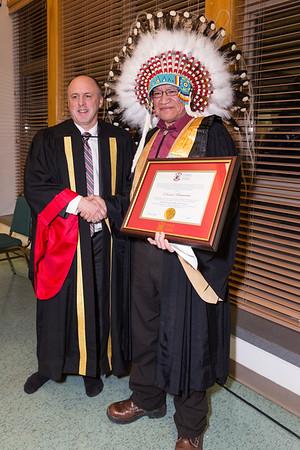 Edmund Metatawabin Doctorate U of Sudbury