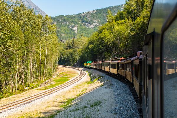 Day 66 5th August 2019 Skagway White Pass Railway