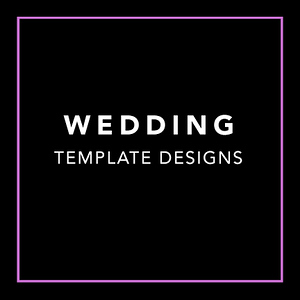 Wedding Template Designs