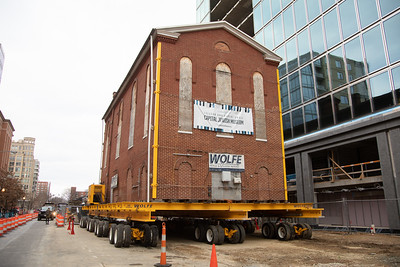 Oldest Synagogue Building Physically Moves to New Location in DC (Jan. 9, 2019)