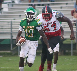 Hamilton County at Suwannee football 9/7/18