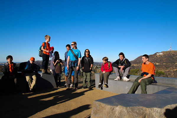 160206 Mt. Hollywood Hike