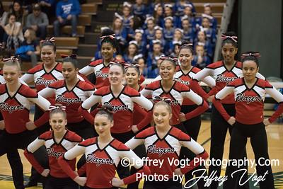 12-16-2017 Montgomery Blair HS Poms at Seneca Valley HS Poms Exhibition, Photos by Jeffrey Vogt Photography