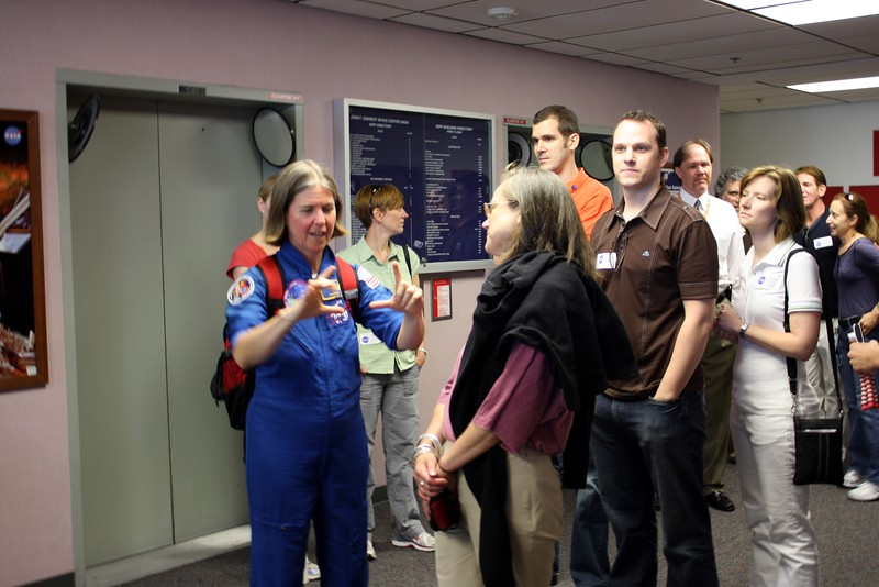 Astronaut Janice Voss, an engineer who has flown on five Space Shuttle missions and is now the science director for the Kepler Space Observatory