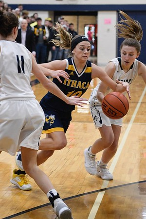 MS Hemlock vs Ithaca Girls Basketball