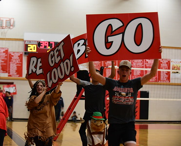 Jourdanton Volleyball Playoff V. Taft
