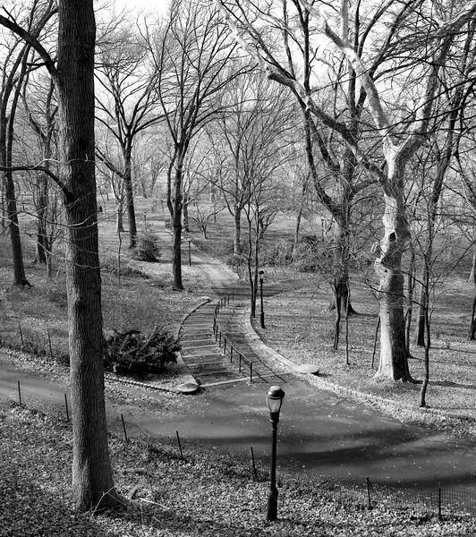 Riverside Park in January