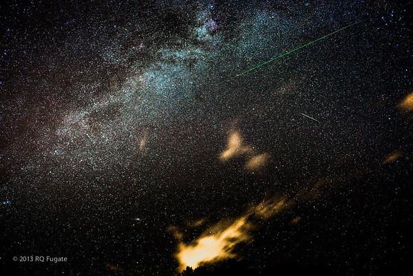 Perseid Meteors 2013