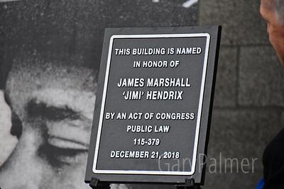 Jimi Hedrix Post Office Dedication