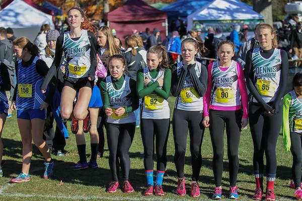 2014 MIAA State Open XC D2 Girls