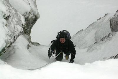 Winter Climbing Scotland Feb 2009