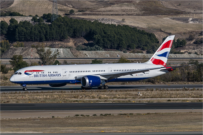 British Airways / Boeing B787-9 / G-ZBKH