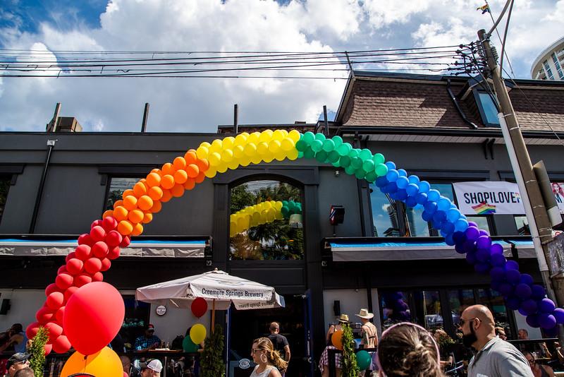 Rainbow Over The Churchmouse & Firkin