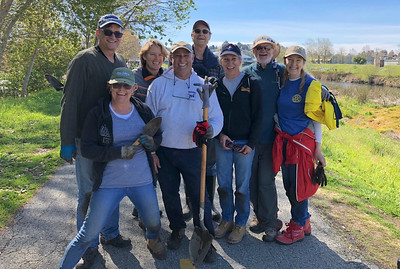 2018-03-11 River Levee Native Plant Restoration with Coastal Watershed Council