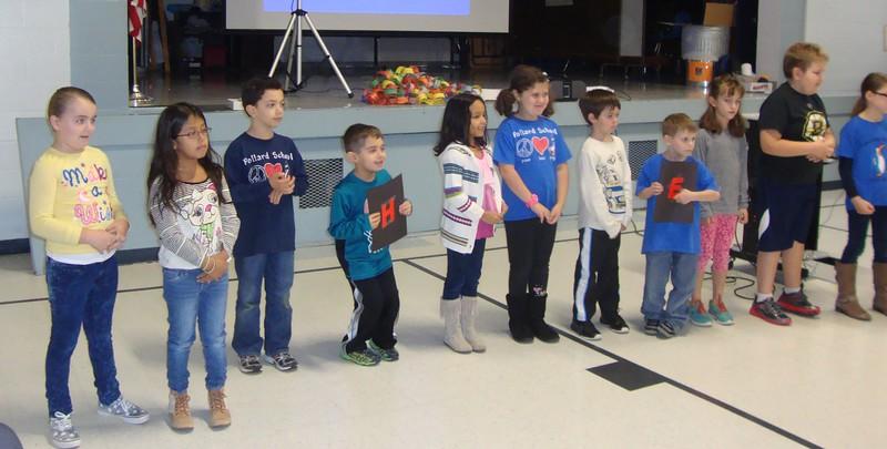 Pollard School Has HEART - Assemblies
