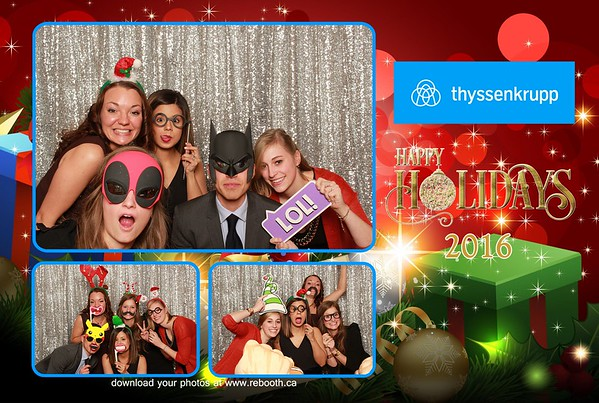 ThyssenKrupp Calgary Holiday Party 2016