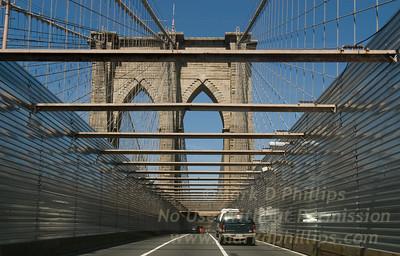 Brooklyn Bridge Walls